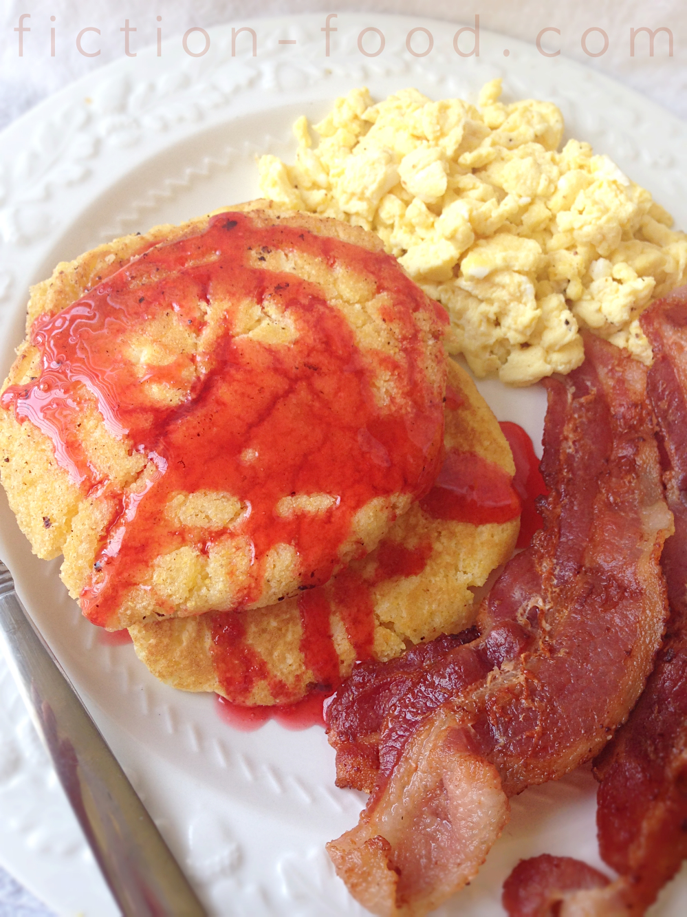 "Fiction-Food Café: Hoecakes Cooked in Bacon Grease from ""True Blood"""