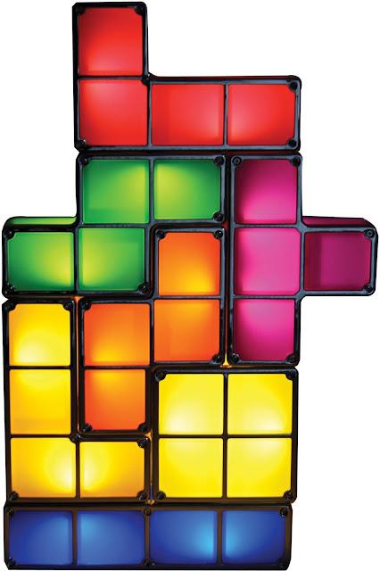 Creative Tetris Stackable LED Desk Lamp Recesky DIY Tetris Lamp Tetris Light
