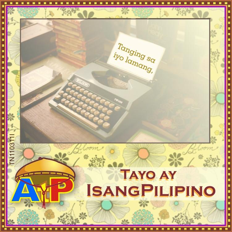 ipagmalaki ang wikang pilipino Embed tweet buwan ng wikang pambansa filipino: wika ng saliksik wikang  filipino ay ating angkinin, ipagmalaki at pagyamanin.