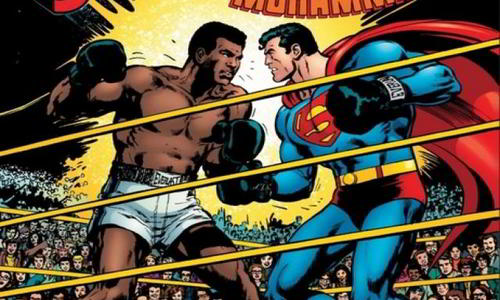 Muhammad Ali Defeated Superman