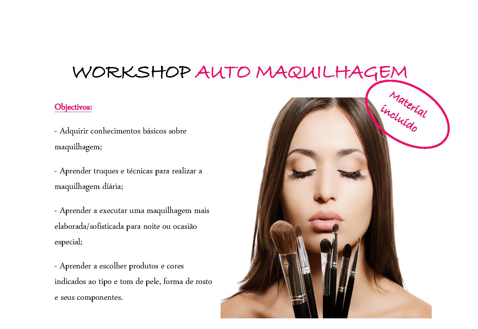 ÉVORA: Workshop de Auto Maquilhagem