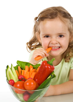 Helping Kids Make Healthy Food