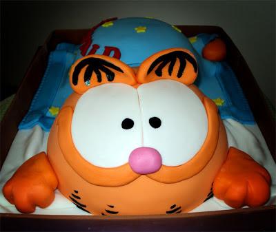 Delana S Cakes Garfield Cake