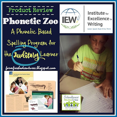 Phonetic Zoo~ Product Review from Farm Fresh Adventures