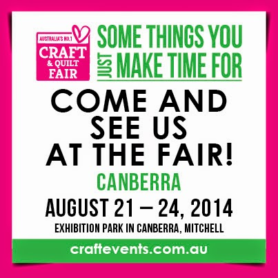 Craft Show Canberra August