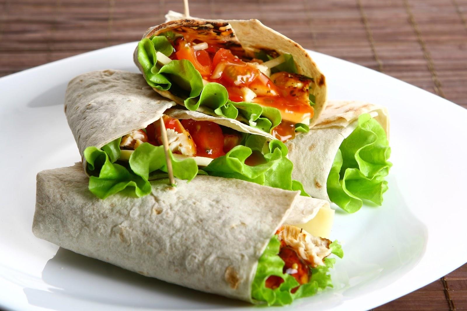 Recetas saludables para cada uno rollitos de verduras con Plato rapido y facil de preparar
