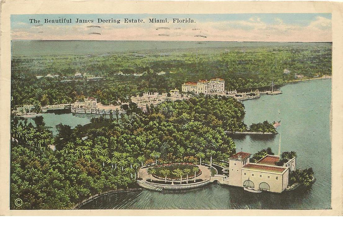 Deering Harvester Company : My fictional travel about miami vizcaya museum and