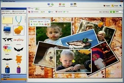 تحميل برنامج دمج الصور picture collage maker