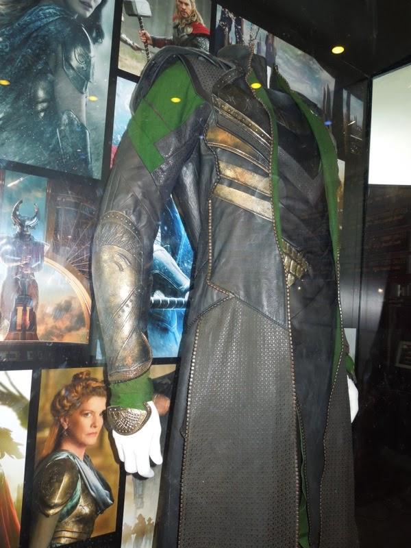 Loki costume detail Thor 2