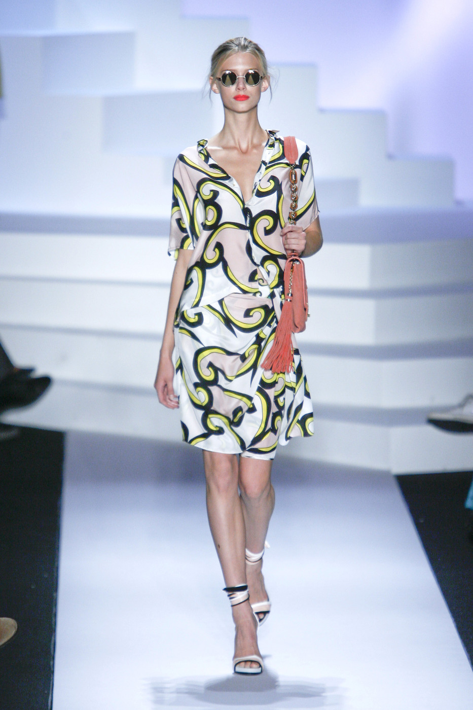 via fashioned by love | Diane von Furstenberg wrap-dress Spring/Summer 2011