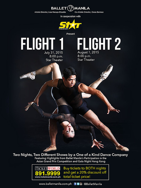 Ballet Manila Flight 1 and Flight 2