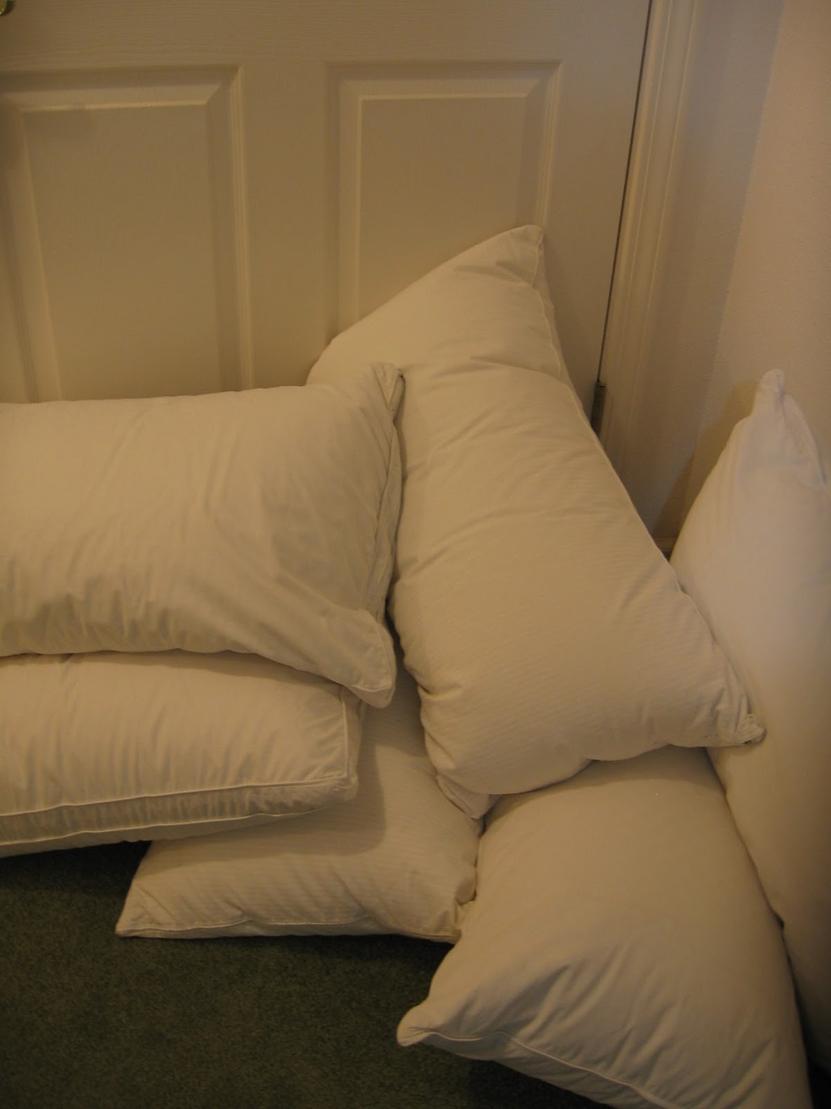 the stuff closet down pillows purchasing and cleaning