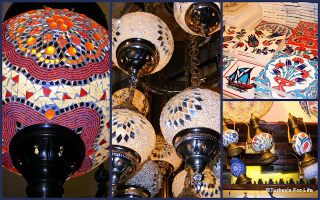 Turkish Glass Lanterns, Grand Bazaar, Istanbul