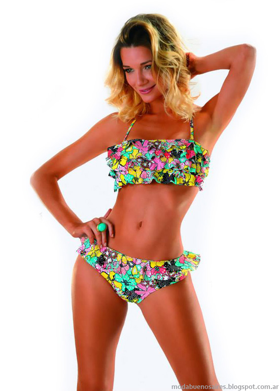 Moda playa verano 2014 bikinis.