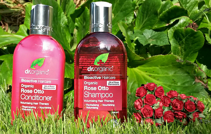 Dr Organic Rose Otto Shampoo & Conditioner Review