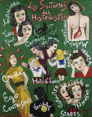 Síntomas del histerismo, Agustí Garcia, Bad Painting, Dr.Vander, Glory Hole, Pinturas, Agustí Garcia Monfort,