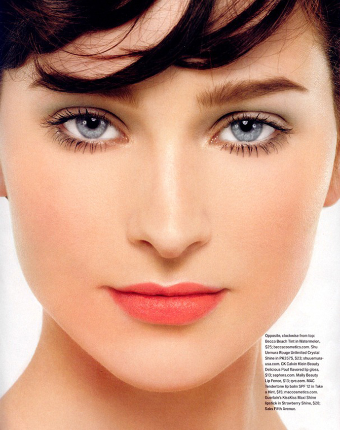 via fashionedbylove | make-up inspiration | inStyle May 2010