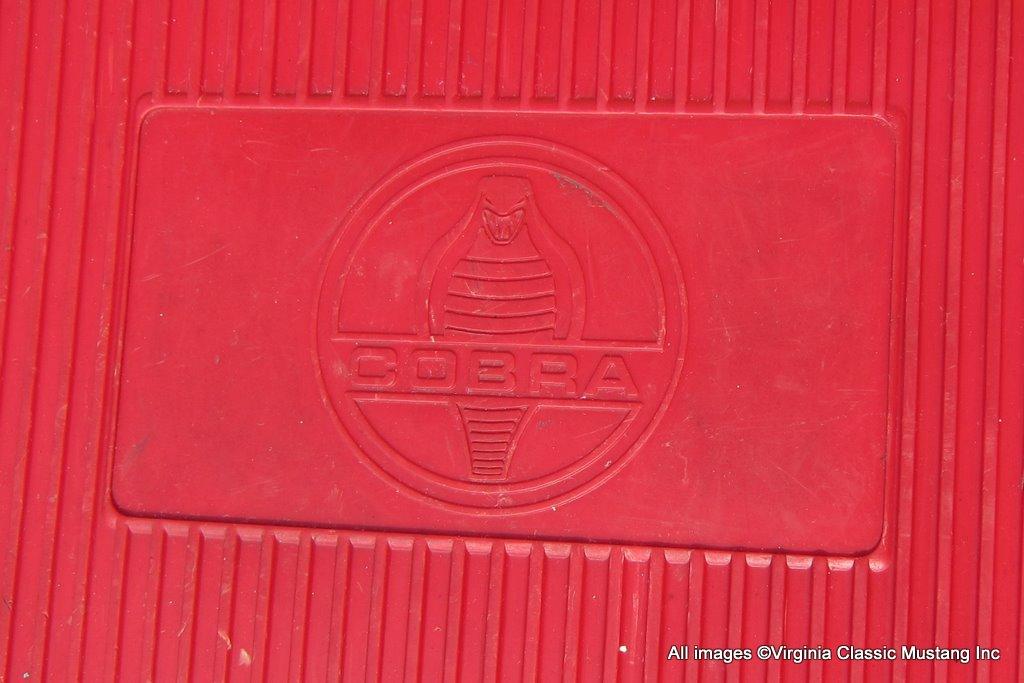 Virginia classic mustang blog shelby cobra floor mats for 1966 ford mustang floor mats