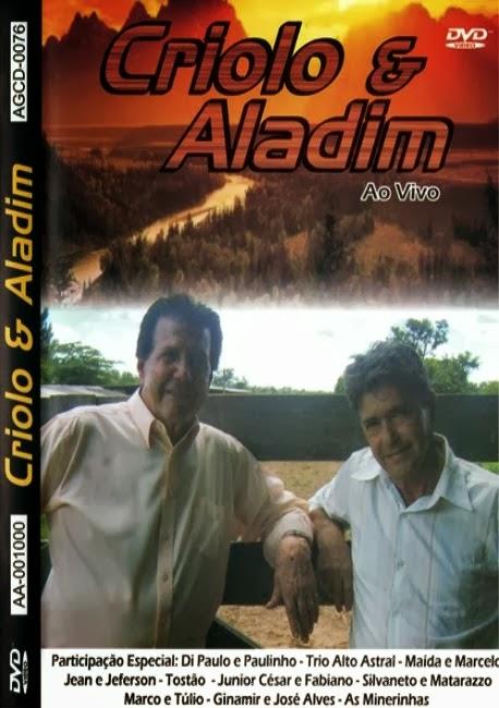DVD Criolo e Aladim - Ao Vivo