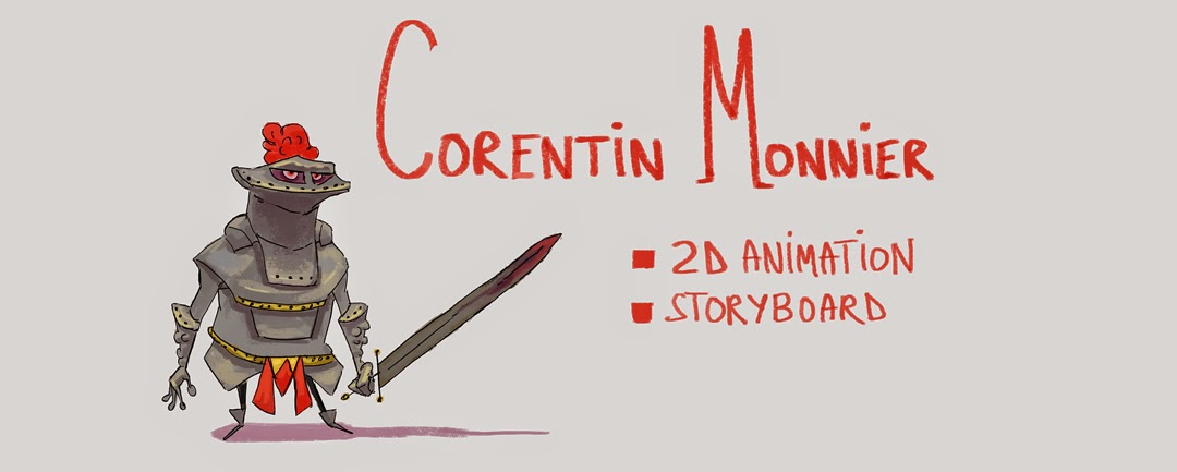 Corentin Monnier - Storyboard and 2D animation