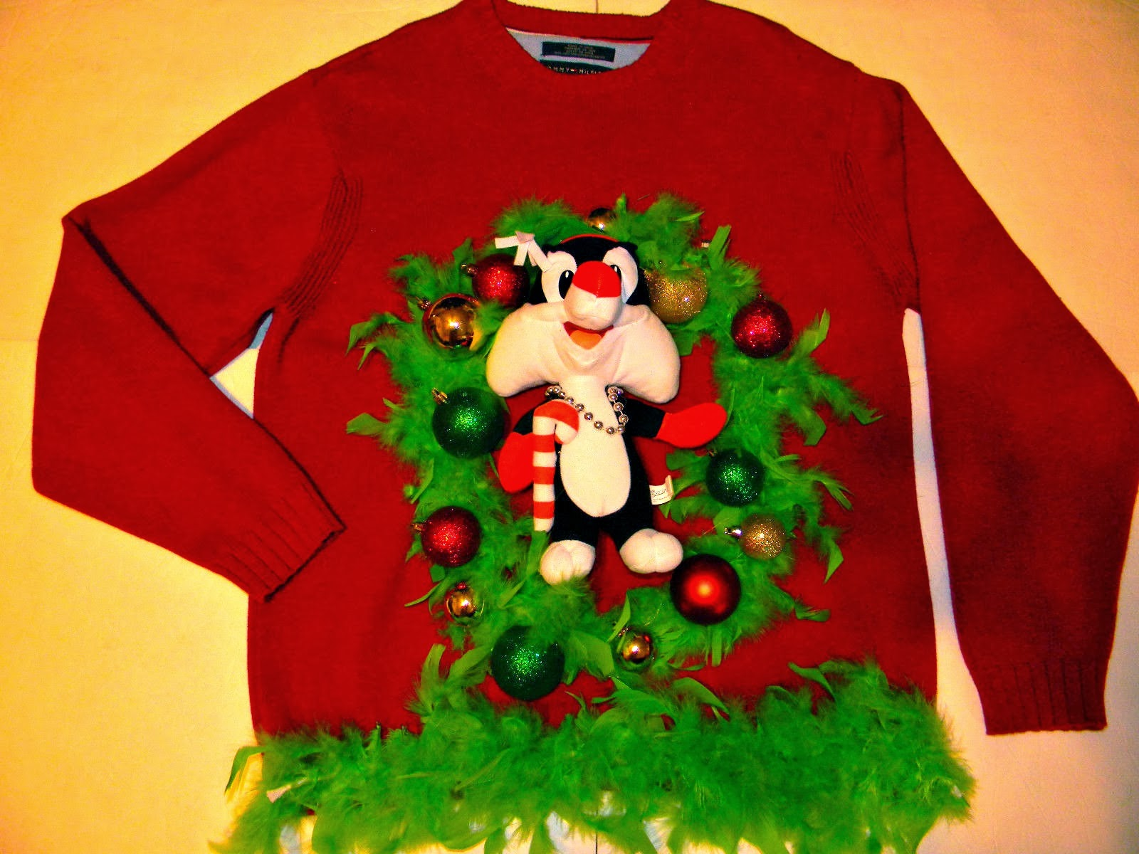 diy funny ugly christmas sweater