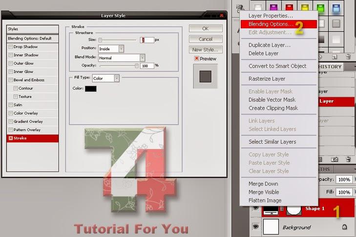 Cara Membuat Stempel Dengan Photoshop