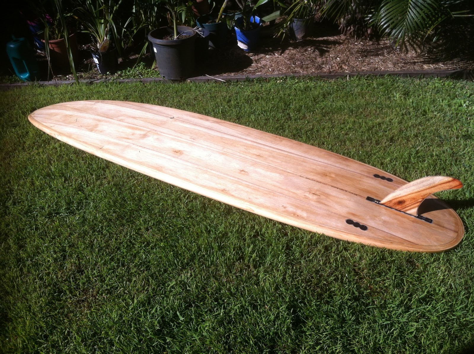 Wood buddha building wood surfboards building a hollow wooden hollow wooden surfboard pronofoot35fo Images