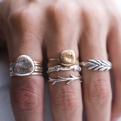 stacking jewelry fashion trends 2013 how to wear it