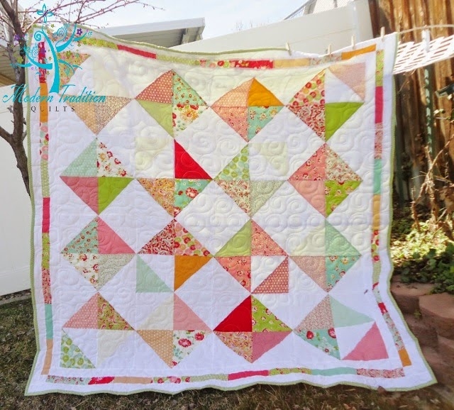Layer Cake Quilt Top : Modern Tradition Quilts: More new quilt patterns & KISMIF 12