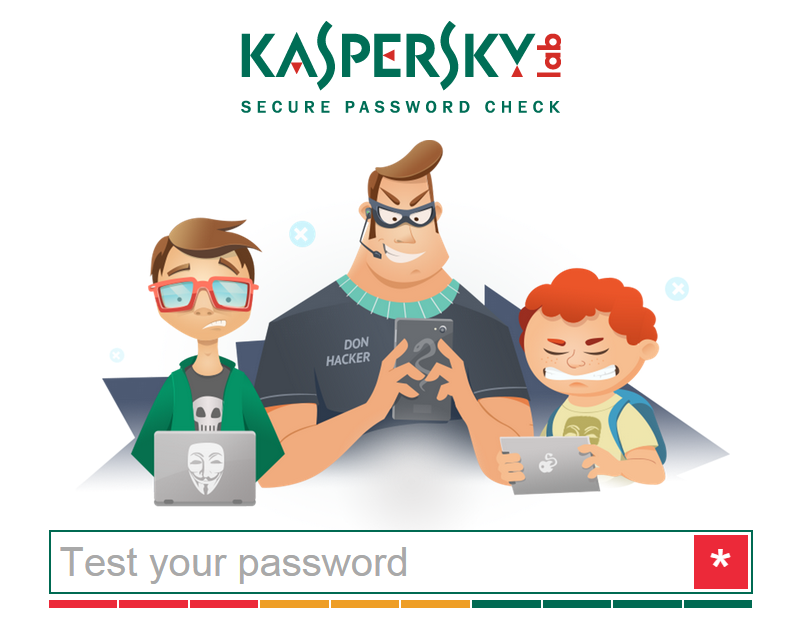 Kaspersky Lab Password Check