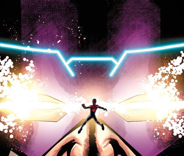 Galactus storms through New York in Cataclysm Ultimate Comics Spider-Man 3