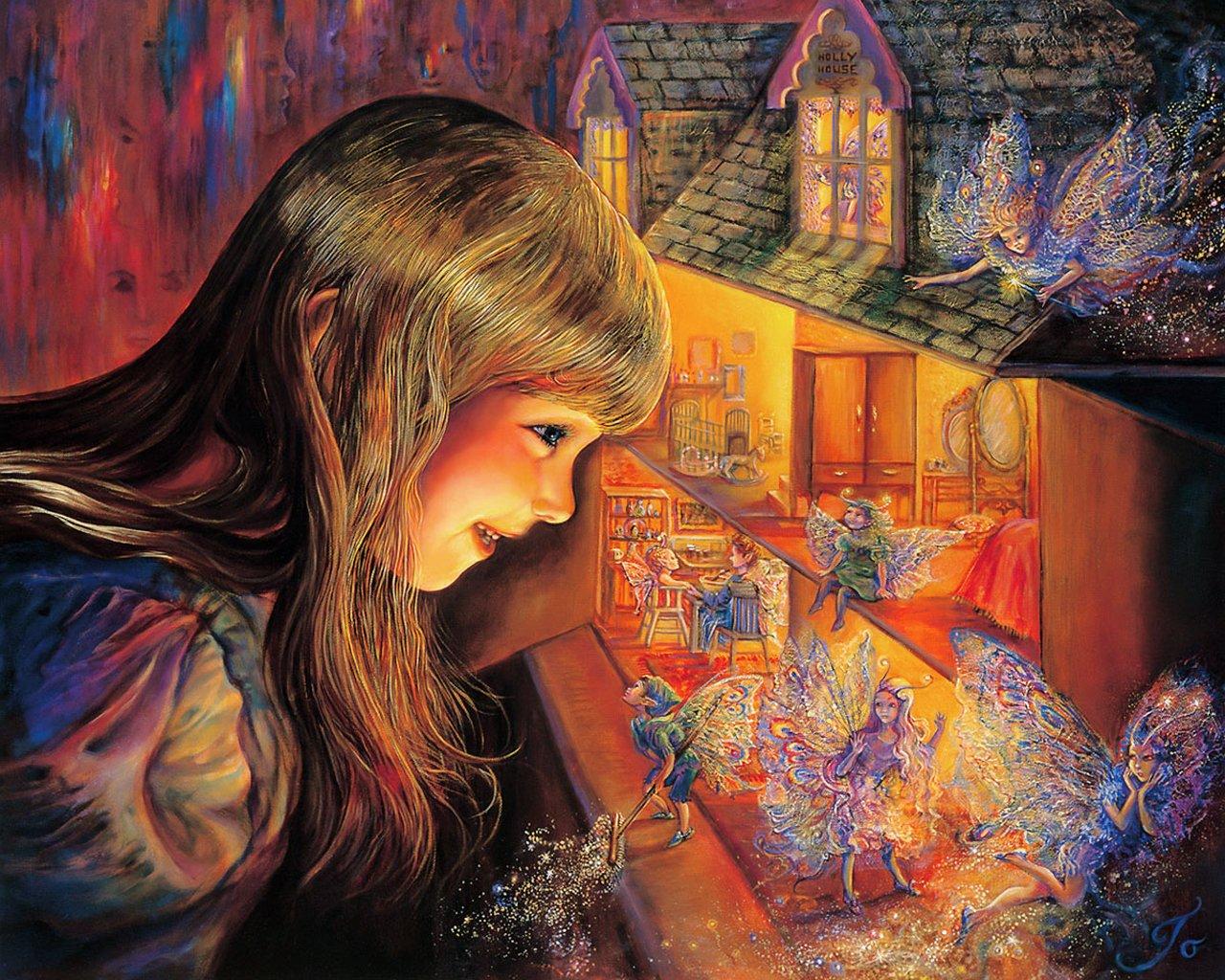 wallpaper josephine illustration fantasy - photo #11