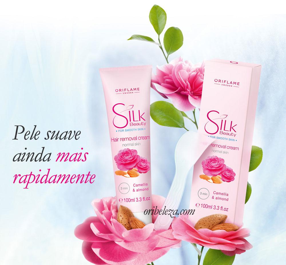Creme Depilatório Suave Silk Beauty da Oriflame