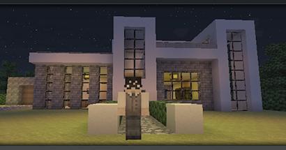 Gri disegni minegrift modern house 1 casa moderna en for Casas modernas minecraft 0 10 0