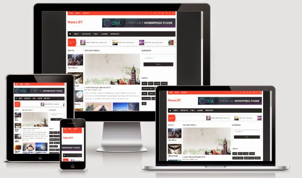 NewsBT Responsive Blogger Template