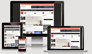 NewsBT Responsive Blogger Template