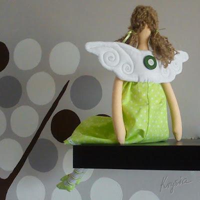 anielica Weronika tilda skrzydła