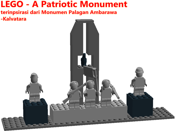 LEGO - Monumen Palagan Ambarawa