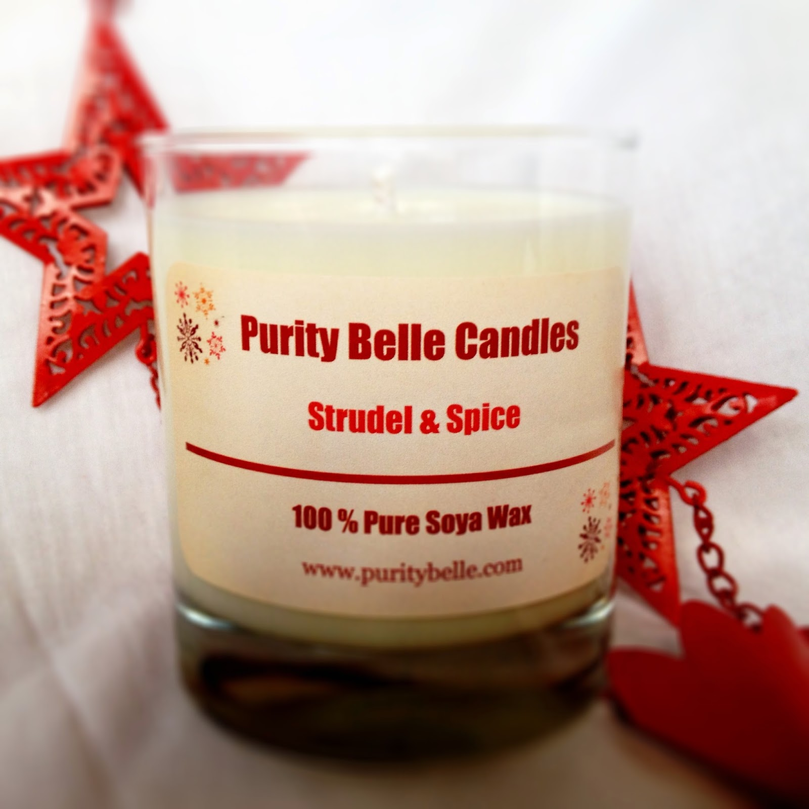 Strudel & Spice Soy Candle Purity Belle