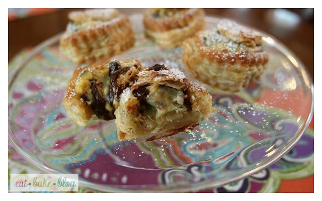 chocolate cream cheese danish puff pastry chocolate croissant recipe