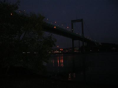 Älvsborgsbron nattetid. foto: Reb Dutius