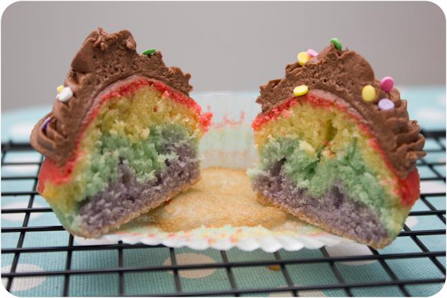 how to make fairy cakes with plain flour