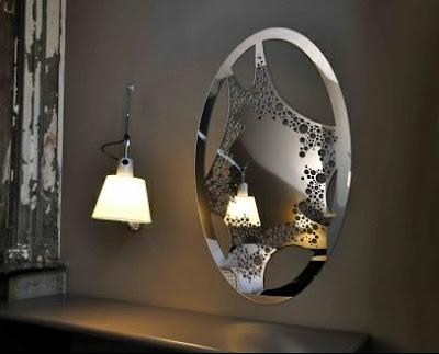 le top 5 des miroirs design le blog de loftboutik. Black Bedroom Furniture Sets. Home Design Ideas