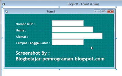 Tutorial Lengkap Penggunaan TextBox di Visual Basic 6.0