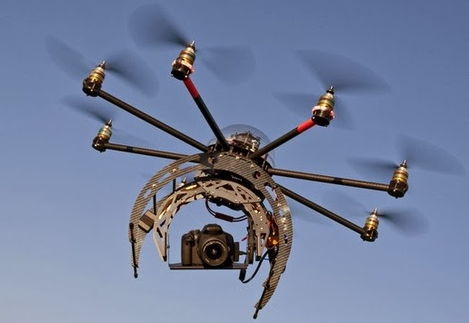 drone photo and video technology