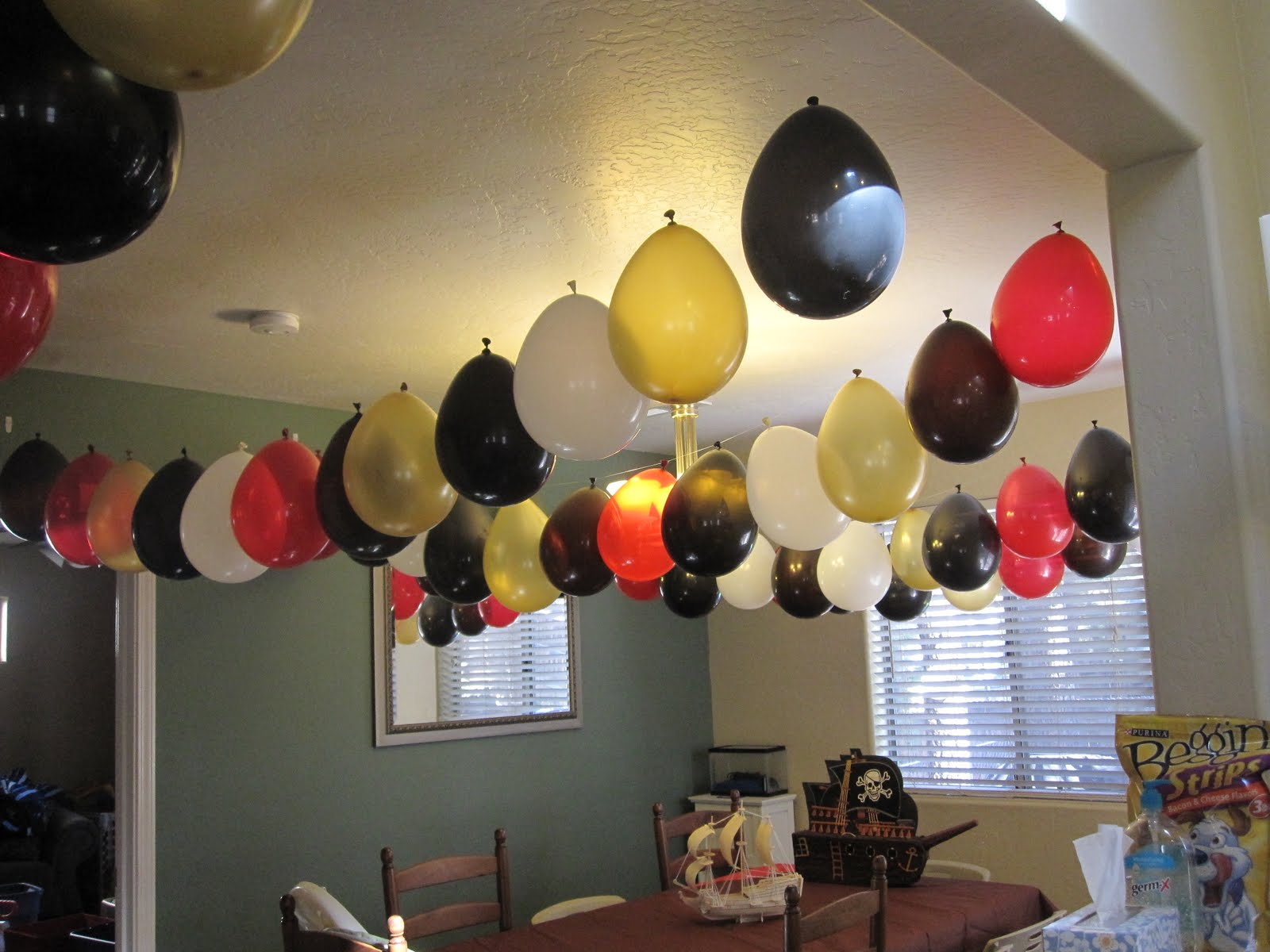 Balloons: Helium Doesnu0027t Do So Been There, Pinned That: Pirate Party!