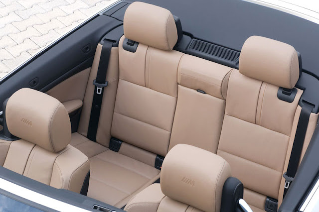 2009 BMW M3 Convertible Back Rear View Interior