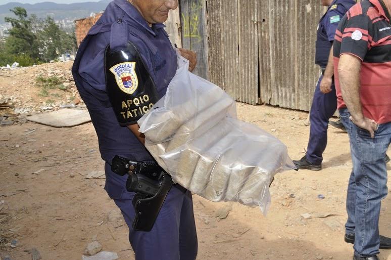 Guarda Municipal de Jundiaí apreende 13 quilos de drogas e munições de calibre 12 em ação no Jardim São Camilo