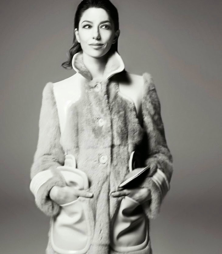 Sofia Coppola HQ Pictures Vogue Italia Magazine Photoshoot February 2014 By Steven Meisel
