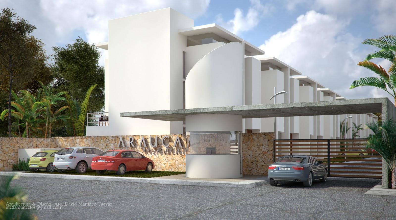 Arquitectura visualizaci n y 3d arauca residencial for Accesos arquitectura